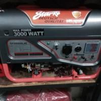 Genset/Generator/Starke/100%Tembaga/3000watt