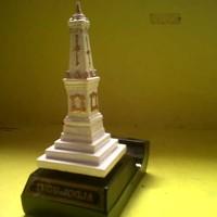 Miniatur dari Kayu Tugu Jogja Kecil