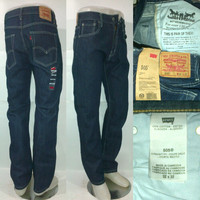 Celana Jeans Original Levi's 505 Reguler Fit / Standar Laki- Laki / Pria
