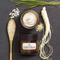 The Body Shop Chinese Ginseng and Rice Face Mask