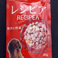 Jual Makanan Anjing / Doggyman Recipea Pork & Vegetables 80g  Z1440 Murah