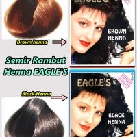 "SEMIR RAMBUT CAT RAMBUT EAGLE""S HENNA BPOM"