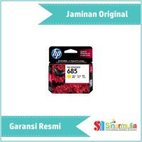 harga Tinta Hp 685 Yellow Ink Cartridge - Original (cz124aa) Tokopedia.com