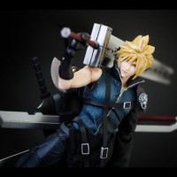 Jual Play Arts Kai Cloud Final Fantasy VII Advent Children Square Enix KW Murah