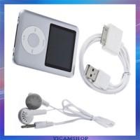 Pod MP4 Player 1.8 Inch LCD FM Radio - Silver