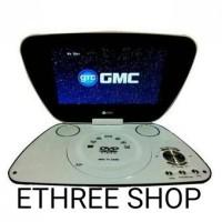 GMC DVD PORTABLE 9 INC 808U / MURAH / + BONUS