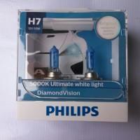 BOHLAM / BOLA LAMPU PHILIPS H7 DIAMOND VISION NINJA 250, R25