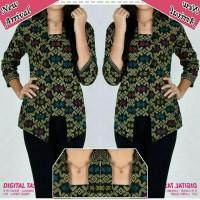 blouse batik/atasan/fashion batik/baju kantor/promo
