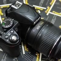 Nikon D3100 Kit Lensa 18-55mm VR Mulus Murah Berbonus
