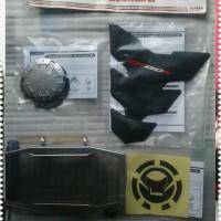 Paket Aksesoris Honda All New CB150R CB 150R Facelift Silver & Red AHM