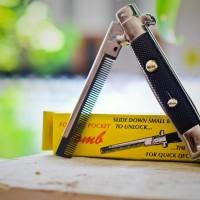 Sisir Lipat Switchblade Comb
