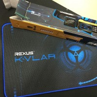 Rexus KVLAR Gaming Mousepad - T3 - 350x250 Small Size