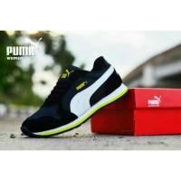 harga Sepatu Casual Sport Running Wanita Puma St Black White Tokopedia.com