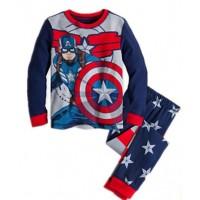 harga Baju Tidur Anak Laki-laki/piyama Gap Hk Anak Laki-laki Captain America Tokopedia.com