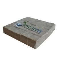 JIRIFARM Rockwool Hidroponik 5x5x5 cm (25pcs) / Media Tanam  (09421)