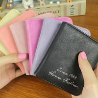 Dompet wanita korea terbaru kulit kecil tipis koin kartu serbaguna 198