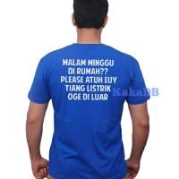 kaos/tshirt/baju KATA BAHASA SUNDA LUCU JOMBLO