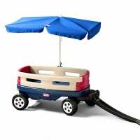 LITTLE TIKES EXPLORER WAGON WITH UMBRELLA RIDE ONSLITTLE PUMPKINSTOYS