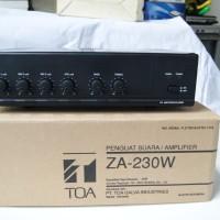 harga Amplifier Toa Za230w Tokopedia.com