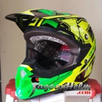 harga KYT Helm Cross Over Super Fluo Edition Super Moto Trail Tokopedia.com