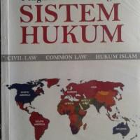 Buku Pengantar Perbandingan Sistem Hukum
