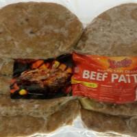 Jual Besto Beef Patties (daging untuk isian burger) 500gr (10 pcs) Murah
