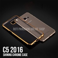 Samsung Galaxy C5 2016 Case Shining Chrome Softcase
