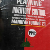 Productuon planning and inventory control (PPIC)