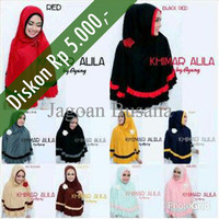 HARGA PROMO Hijab/Jilbab Instant Khimar Alila