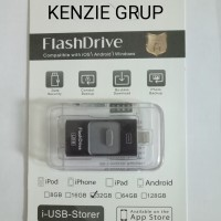 harga 3 IN 1 FLASHDRIVE IPHONE 64GB ORIGINAL IPAD/OTG/FLASHDRIVE/DISK/I-USB Tokopedia.com