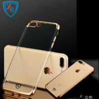 harga Terbaru Iphone 7 - 7plus Soft Case List Chrome Casing Cover Tokopedia.com