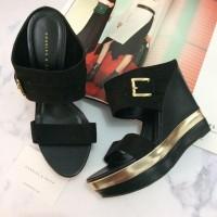 Sepatu Sandal Wanita Original Charles n Keith Murah Balck