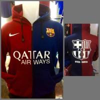 Jaket Sweater Hoodie Barca Barcelona Top Quality Murah