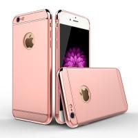 Premium Shining Baby Skin Ultra Thin Hard Case Rose Gold iPhone 6/6s