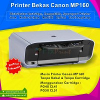 Printer Bekas Canon MP160 MP160 (Printer , Scan, Copy) Bergaransi