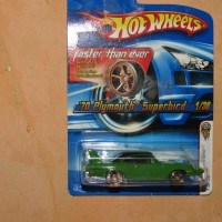 HOT WHEELS 70 PLYMOUTH SUPERBIRD