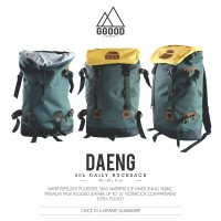 Tas Ransel Laptop Gunung Mini Carrier Daypack - Ggoodstuff Daeng Green