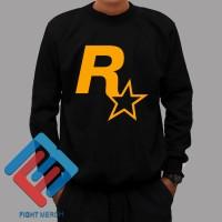 Sweater Rockstar Games - Hitam
