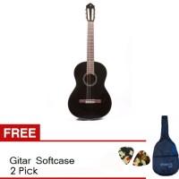 harga Yamaha Akustik Guitar C 40 - Hitam + Softcase & 2 Pick Tokopedia.com