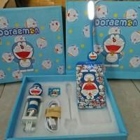 Power Bank Paket Doraemon 5 in 1
