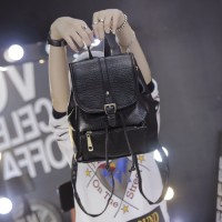 64604 TAS RANSEL SIMPLE KEREN GAUL FASHION GAYA TUMBLR BACKPACK KAITAN