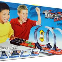 Mainan Anak Hotwheels Track Halilintar 2 Jalur Track Hot Wheels Car