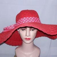 harga Topi Pantai Floppy Hat Import Anyaman Lebar Setengah Meter Tokopedia.com