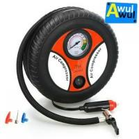 Kompresor pompa ban mini untuk mobil, motor, sepeda 12V 260 PSI