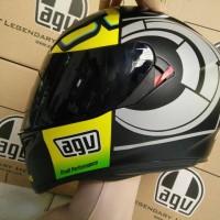 harga Visor Dark Smoked AGV K3 SV (Kaca Helm) Tokopedia.com