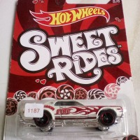 Hot Wheels Hotwheels Sweet Rides 68 Mercury Cougar White