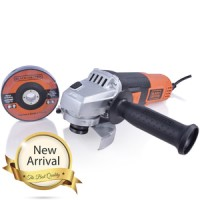 Black + Decker 100 Mm 820 Watt Grinder With 3 Discs G720B1