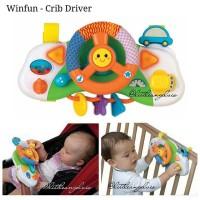 Winfun Baby Crib driver mainan stroller box bayi
