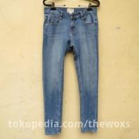 Celana Jeans Ketat Wanita Original Converse Ukuran 34 Sedikit Elastis