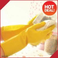 Sarung Tangan Karet/Gloves untuk Cuci Piring Berkebun (WN27)